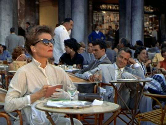 Katharine Hepburn and Rossano Brazzi in David Lean's Summertime