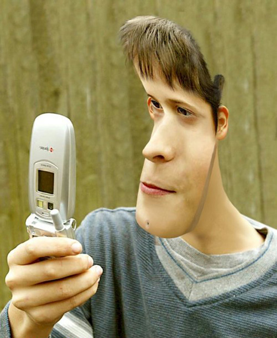 Fliphead cell phone