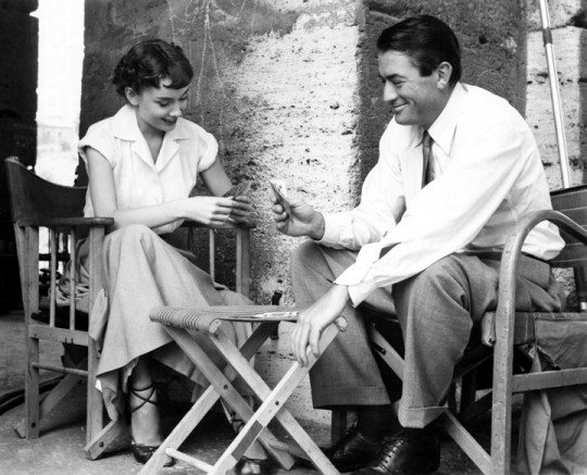 Hepburn and Peck playing cards