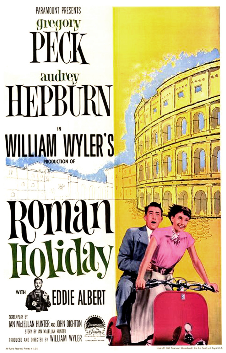 William Wyler's Roman Holiday