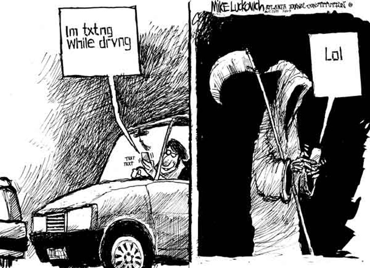 Texting and Driving with Death