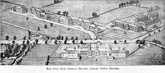 Five New Orphan Houses, Ashley Down, Bristol, England