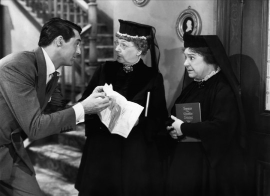 Frank Capra's Arsenic And Old Lace starring Cary Grant and Priscilla Lane