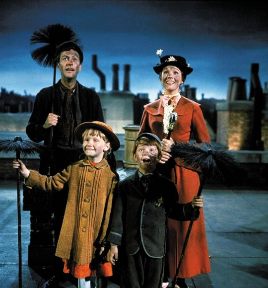 Disney's Mary Poppins starring Julie Andrew and Dick Van Dyke