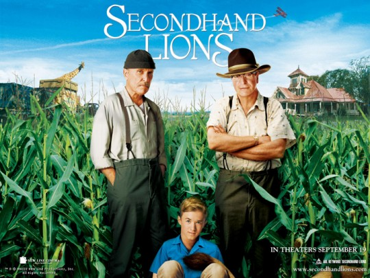 Tim McCanlies' Secondhand Lions starring Michael Caine and Robert Duvall