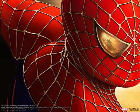Spiderman starring Tobey Maguire, Kirsten Dunst and James Franco