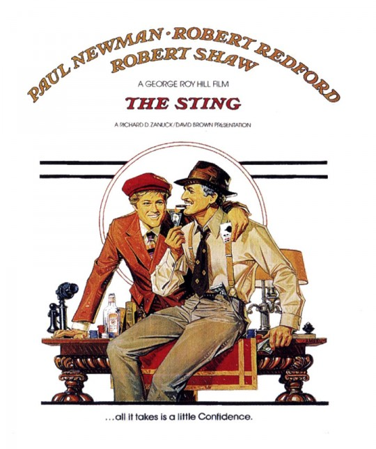 George Roy Hill's The Sting starring Paul Newman and Robert Redford