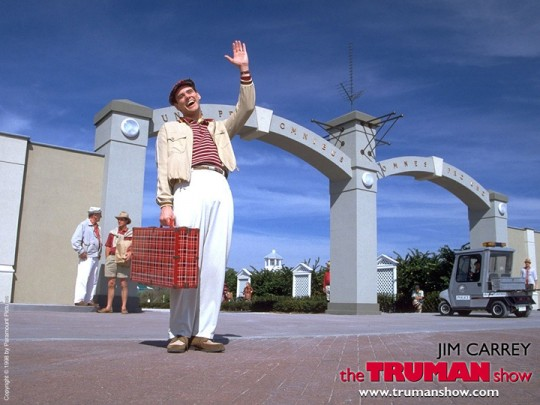 Peter Weir's The Truman Show starring Jim Carrey
