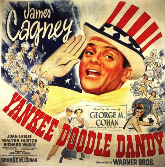 Michael Curtiz' Yanke Doodle Dandy starring James Cagney