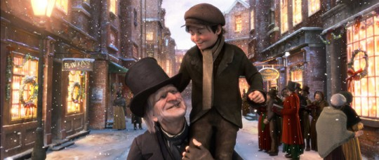 Scrooge and Tiny Tim from Disney's A Christmas Carol