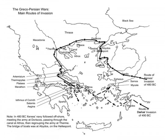 Attempted Conquest of Greek City-States by Persians
