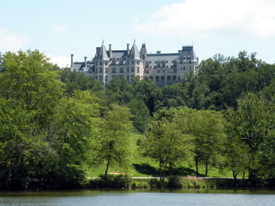 West Side of Biltmore House
