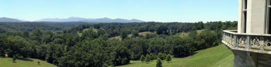 Panorama of Biltmore Estate