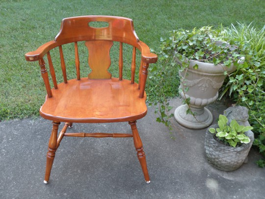 Waitsel's Refinishing Furniture - Finished Chair