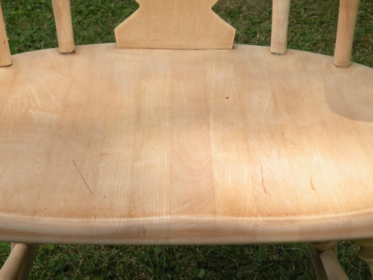 Waitsel's Refinishing Furniture - Fully Sanded Chair Seat