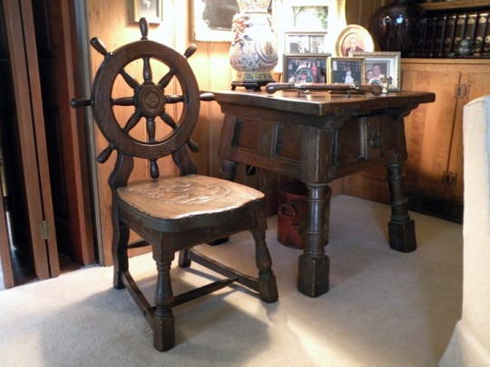 T J Stone nautical motif furniture
