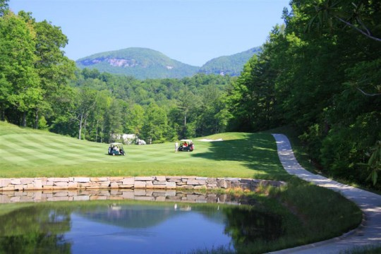fly fishing lake toxaway country club