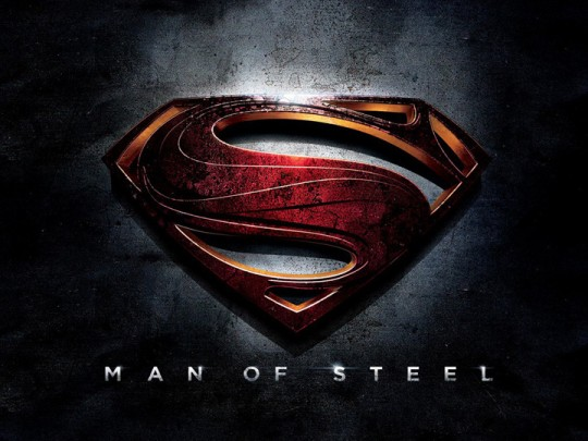 Man Of Steel Movie Logo - Superman