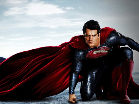 Man Of Steel Movie - Henry Cavill as Superman