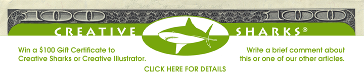 Win a Gift Certificate to Creative Sharks or Creative Illustrator