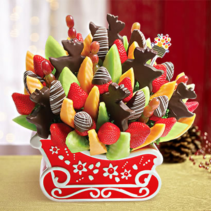 Christmas Edible Arrangements