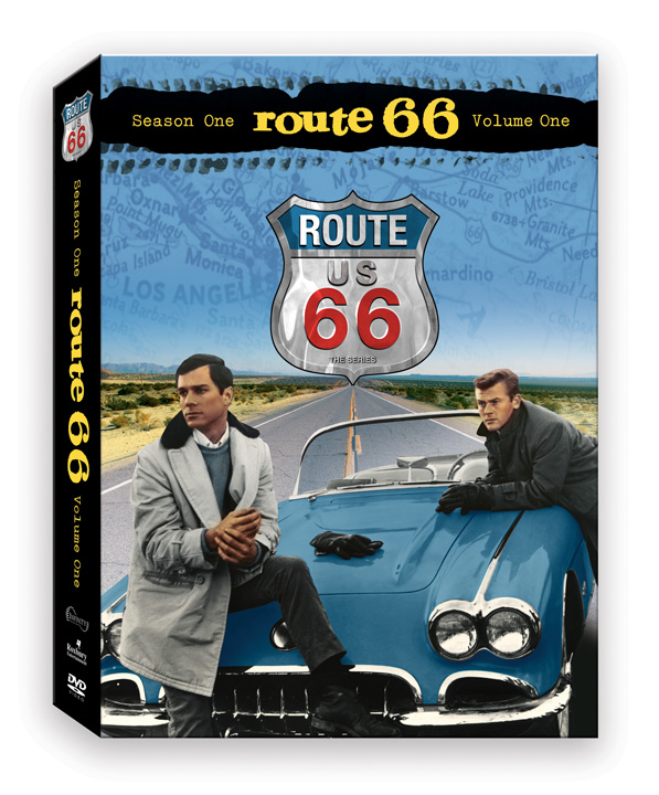 Hit The Road - Route 66 tv show car